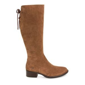 Born Cotto Tall Brown Suede Women's Boots
